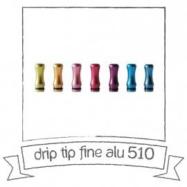 Drip tip Fine alu 510
