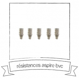 Résistances Aspire BVC Vertical Coil