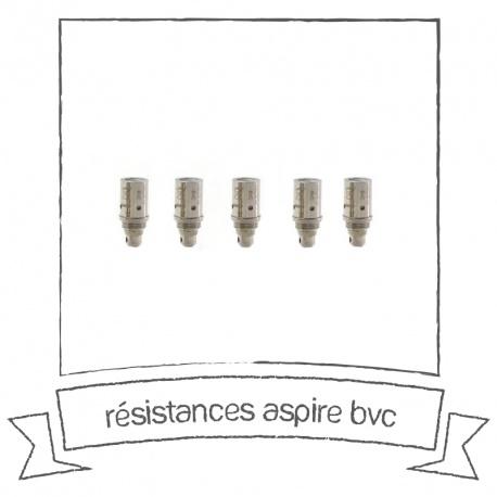 Résistances Aspire BVC Vertical Coil