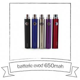 Batterie EVOD - 650 mA/h Kangertech