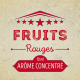 Arôme Cirkus Fruits Rouges