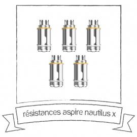 Résistances Nautilus X