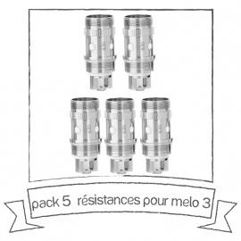 Résistances MELO 3