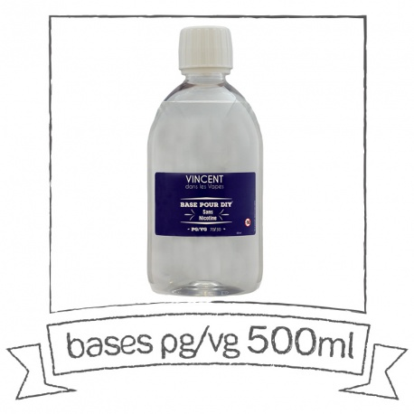 Base PG/VG 500 ml