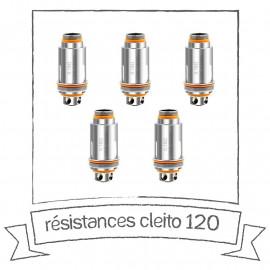 Résistances Cleito 120 Aspire