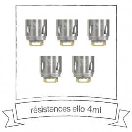 Résistances Ello 4ml