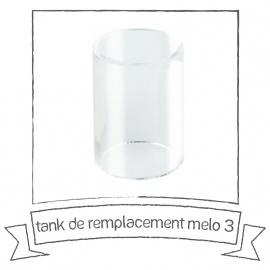 Tank de remplacement pyrex pour MELO 3 ELEAF