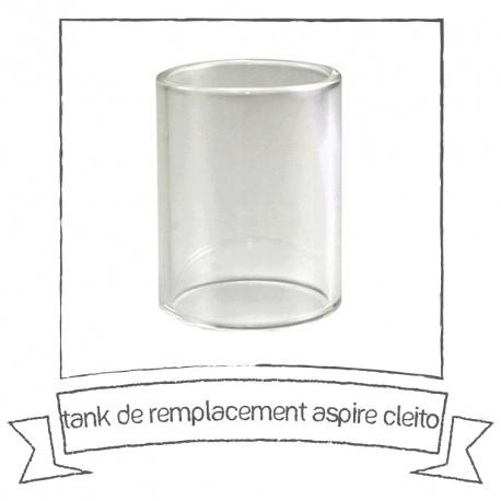 Tank de remplacement pyrex pour le cleito d'Aspire