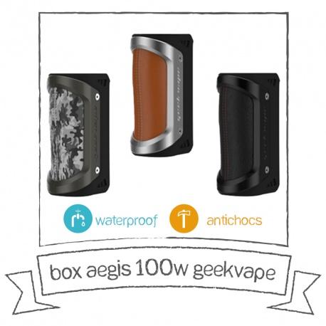 BOX AEGIS 100W GEEK VAPE