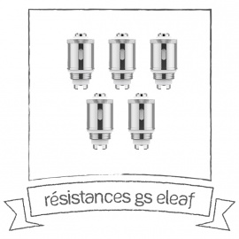 Résistances GS Eleaf