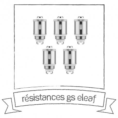 Résistances GS Eleaf