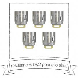 Résistances HW2 Dual pour Ello Eleaf