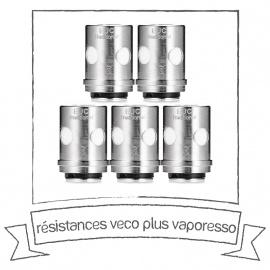 Résistances Traditional EUC Clapton pour Veco Plus Solo Vaporesso