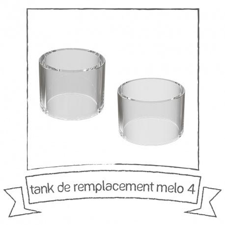 Tank de remplacement pyrex pour le Melo 4 d'Eleaf