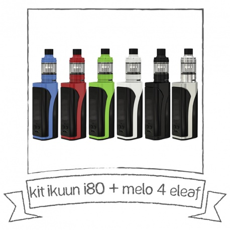 Kit IKUUN i80 melo 4 – ELEAF