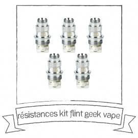 Résistances pour le kit Flint Geekvape