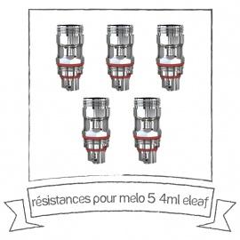 Résistances pour Melo 5 4ml - Eleaf