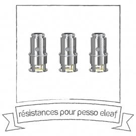 Résistances pour Pesso 5ml - Eleaf
