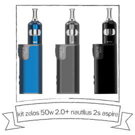 Kit Zelos 2.0 + Nautilus 2S - Aspire