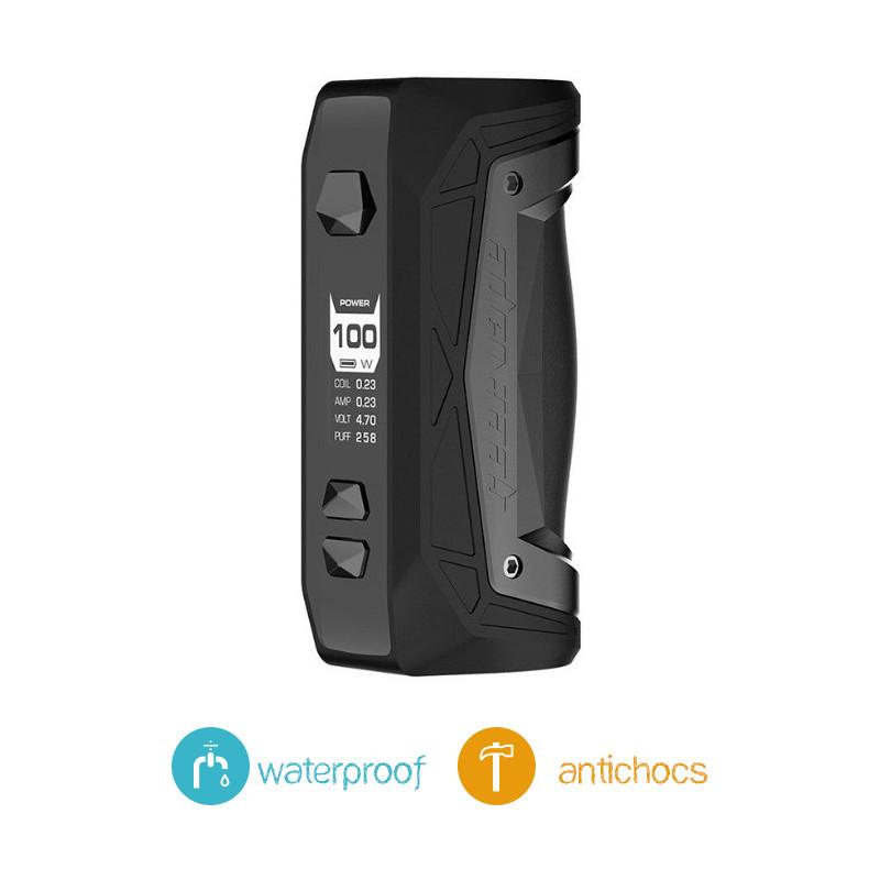 Box Aegis Max100W Geekvape Black Tung