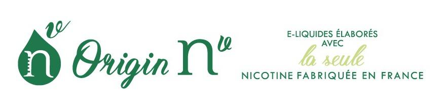 Origin Nv - E-liquides nicotine vapologique fabriquée en France par vincent dans les vapes