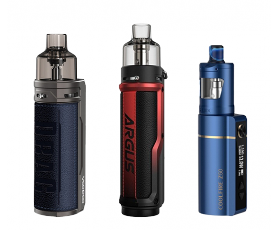 Batteries au choix pour votre cigarette électronique : VincentdanslesVapes.fr