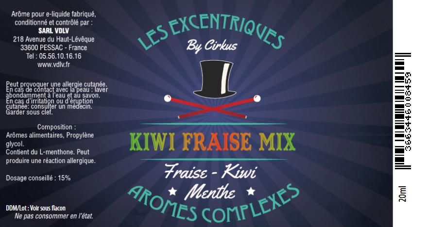 arome kiwi fraise mix