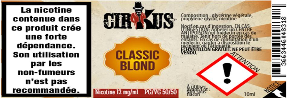 classic blond 12