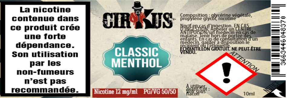 classic menthol 12