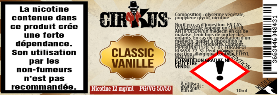 classic vanille 12