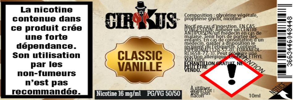 classic vanille 16