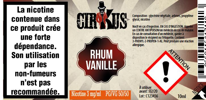 RHUM VANILLE 3