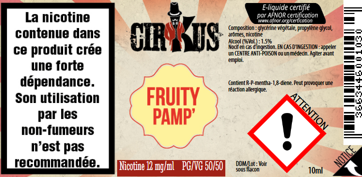 fruity pamp 12