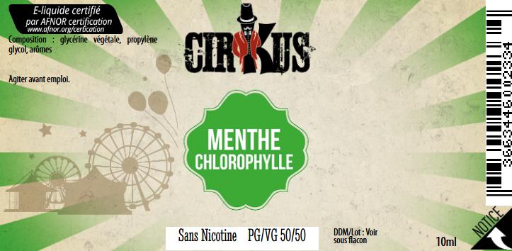 menthe chlorophylle 0