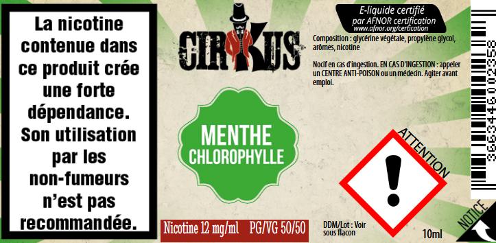 menthe chlorophylle 12