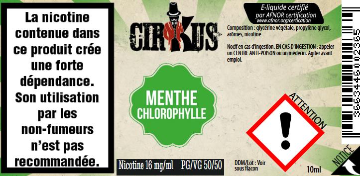 menthe chlorophylle 16