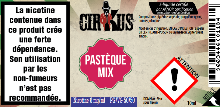 pasteque mix 6