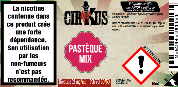 pasteque mix 12