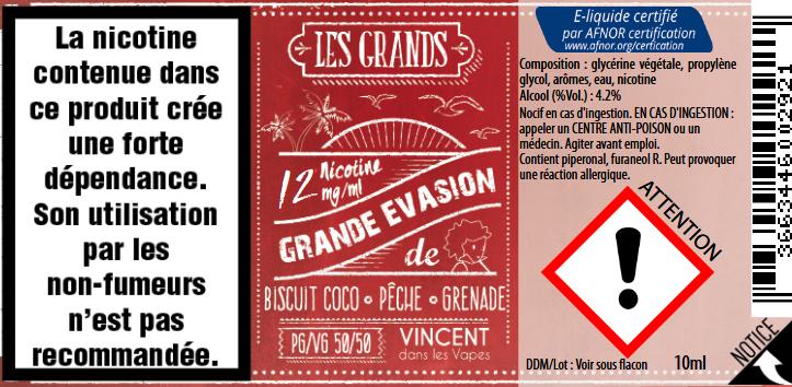 grande evasion 12