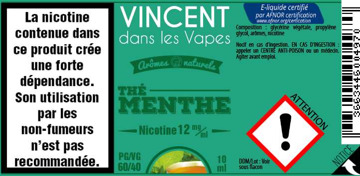 the menthe 12