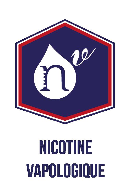 Nicotine vapologique fabriquée en France